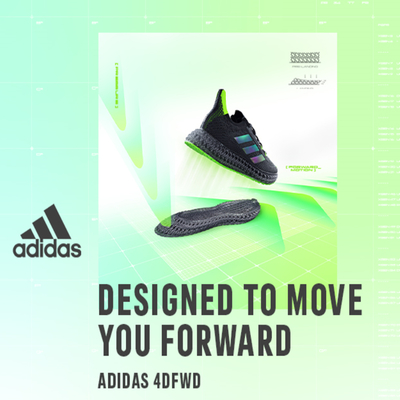 Adidas 4D FWD: The Interval Training Mission